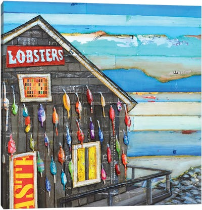 Lobsta Please Canvas Art Print