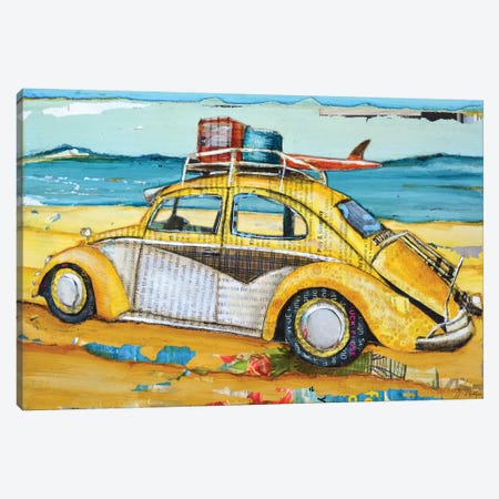 Love Buggy Canvas Print #DNP38} by Danny Phillips Canvas Art Print