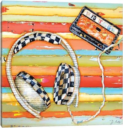 Mixtape Canvas Art Print