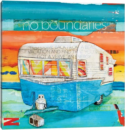 No Boundaries Canvas Art Print