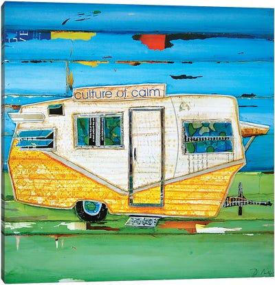 Oceanfront Property Canvas Art Print