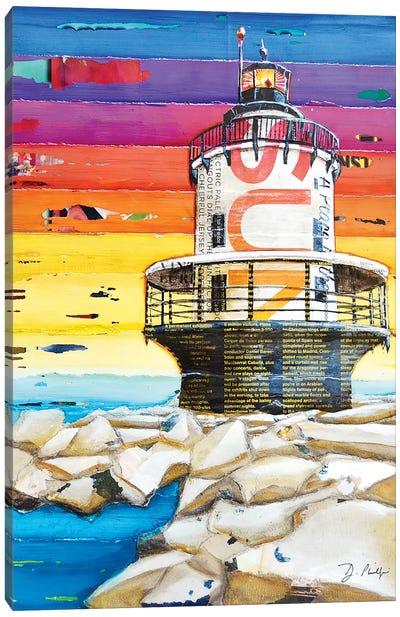 On The Rocks Canvas Art Print