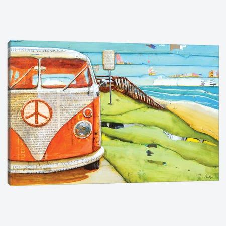 Orange Crush Canvas Print #DNP49} by Danny Phillips Canvas Wall Art