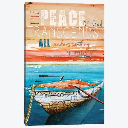 Peace Of God Canvas Print #DNP51} by Danny Phillips Art Print