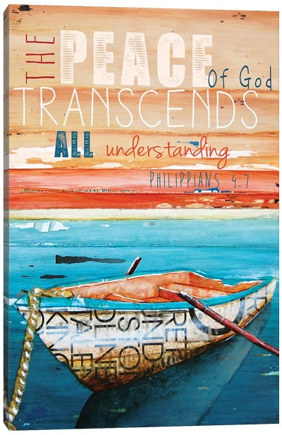 Peace Of God Canvas Art Print