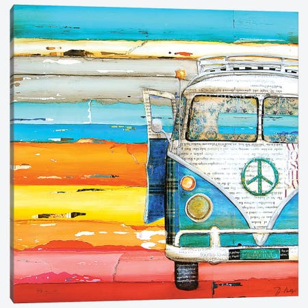 Playing Hooky Canvas Print #DNP52} by Danny Phillips Art Print