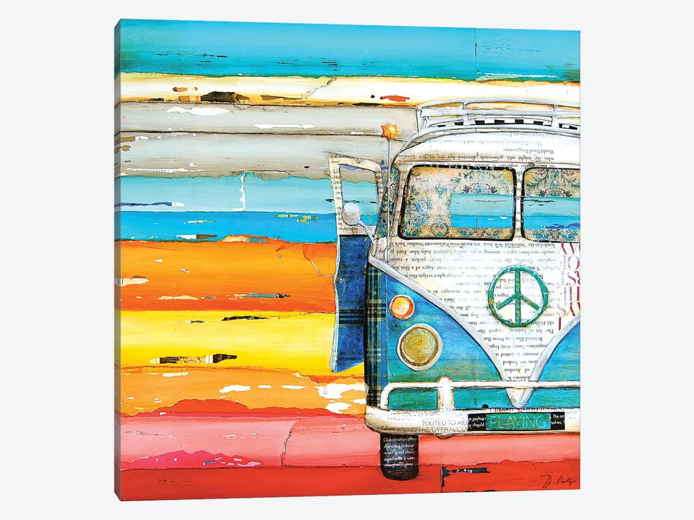 Playing Hooky by Danny Phillips 1-piece Canvas Artwork
