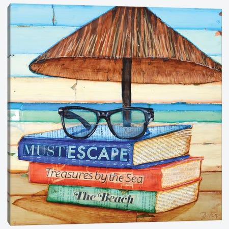 Reading Glasses Canvas Print #DNP54} by Danny Phillips Canvas Art
