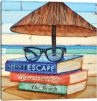 Reading Glasses Canvas Art Print