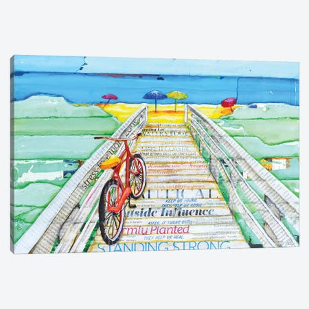 Ride 2 Tide Canvas Print #DNP57} by Danny Phillips Canvas Art