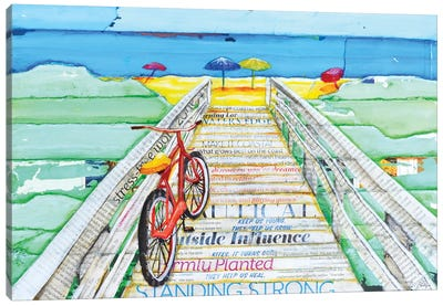 Ride 2 Tide Canvas Art Print