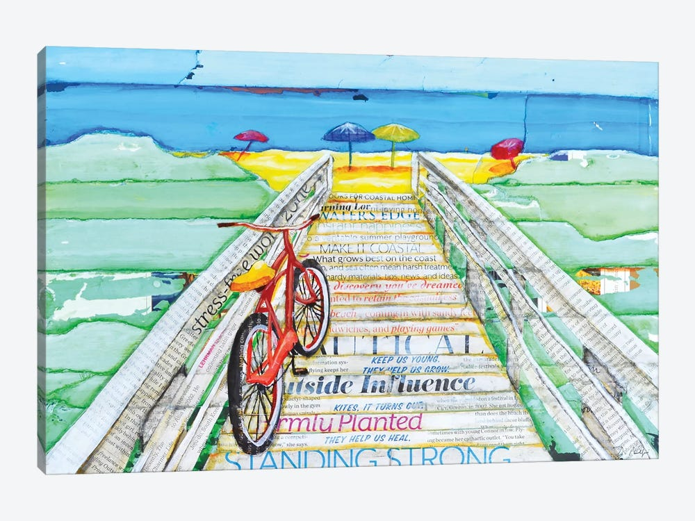 Ride 2 Tide by Danny Phillips 1-piece Art Print