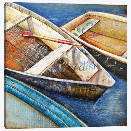 Row Row Row 3-Piece Canvas #DNP58} by Danny Phillips Canvas Art Print
