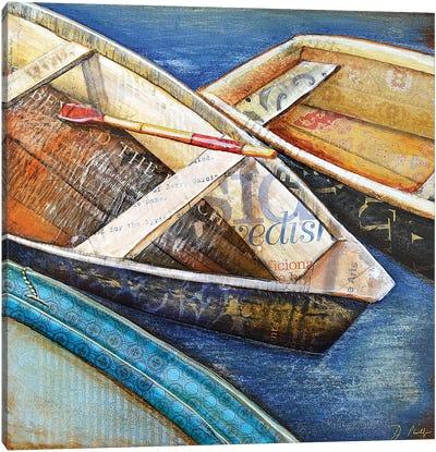 Row Row Row Canvas Art Print