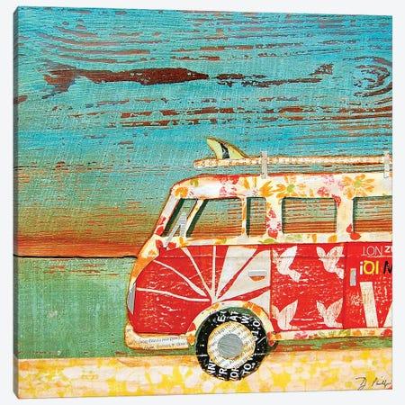 Santa Cruise Canvas Print #DNP62} by Danny Phillips Canvas Artwork