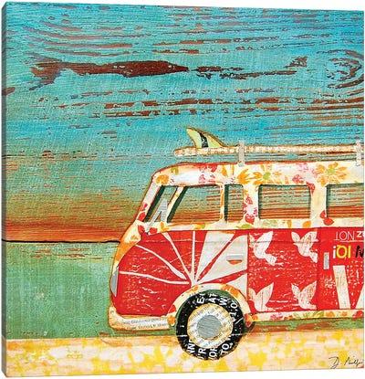Santa Cruise Canvas Art Print