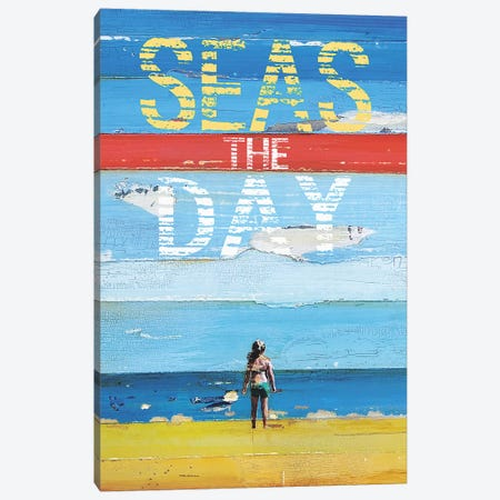 Seas The Day Canvas Print #DNP64} by Danny Phillips Art Print