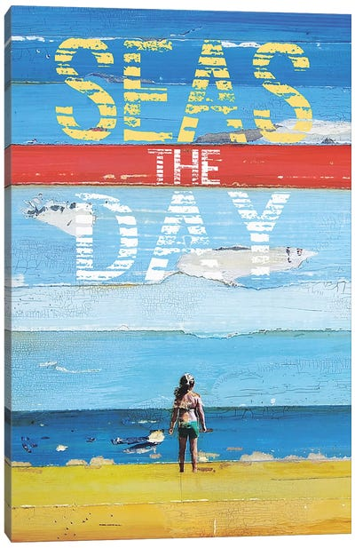 Seas The Day Canvas Art Print