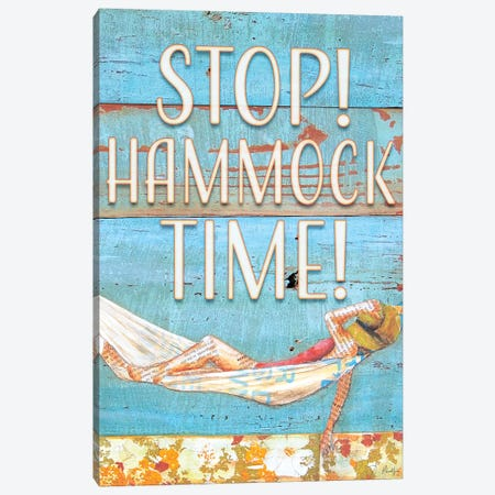 Stop Hammock Time Canvas Print #DNP71} by Danny Phillips Canvas Print