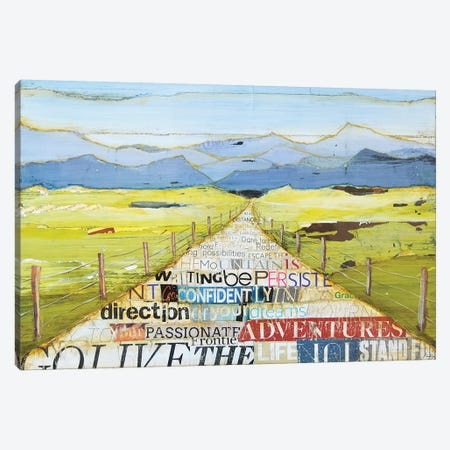 Such Great Heights Canvas Print #DNP73} by Danny Phillips Canvas Art Print