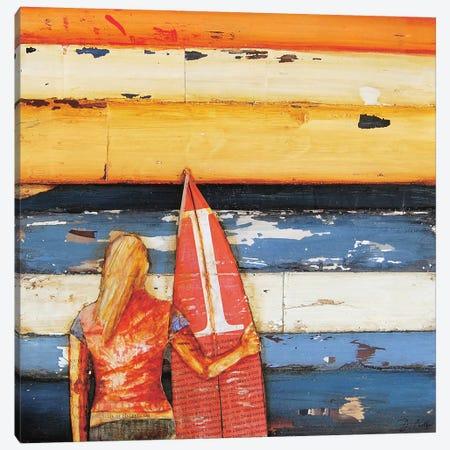 Summer Days 1980s Canvas Print #DNP74} by Danny Phillips Canvas Art