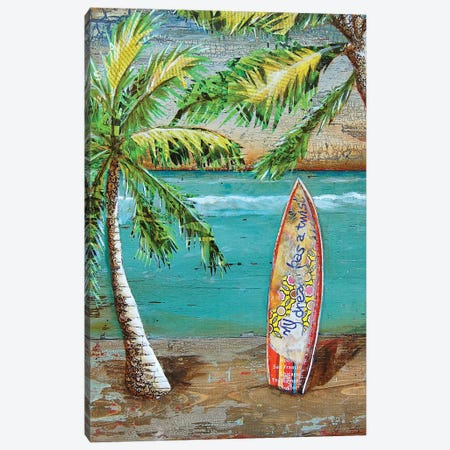 Surfs Up Canvas Print #DNP78} by Danny Phillips Canvas Print
