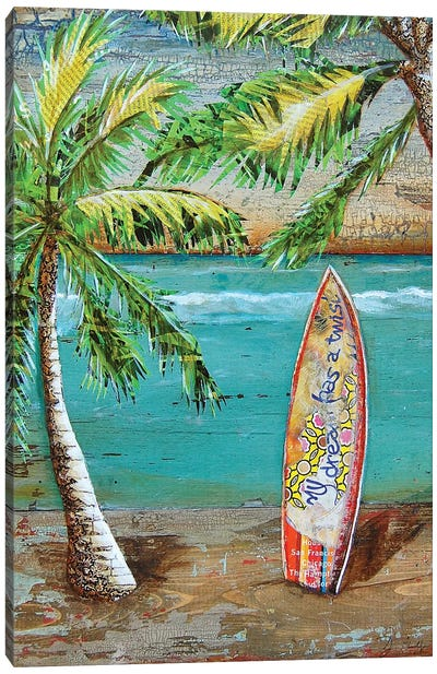 Surfs Up Canvas Art Print