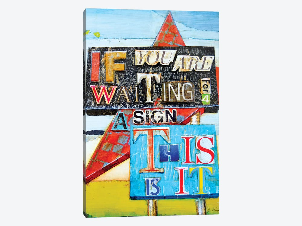 This Is It by Danny Phillips 1-piece Canvas Art