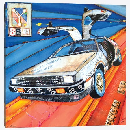 Time Travel Canvas Print #DNP85} by Danny Phillips Canvas Art Print