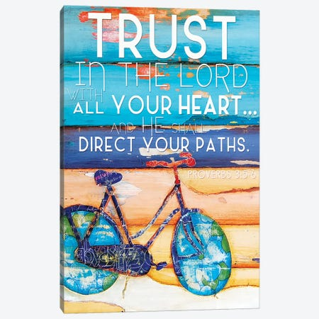 Trust In The Lord Canvas Print #DNP89} by Danny Phillips Canvas Artwork