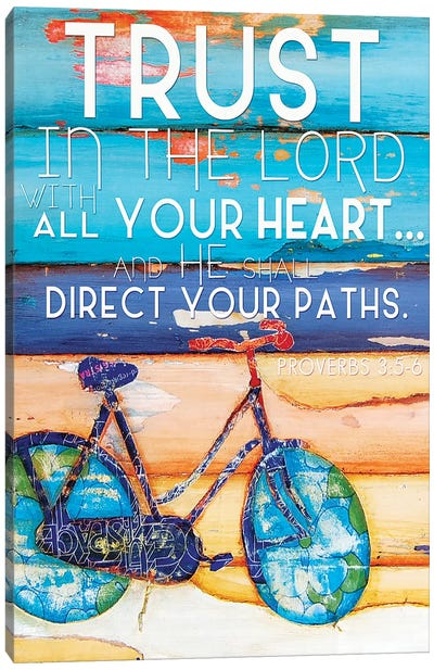 Trust In The Lord Canvas Art Print