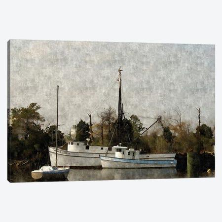 Shipyard Canvas Print #DNS5} by Denise Romita Canvas Print