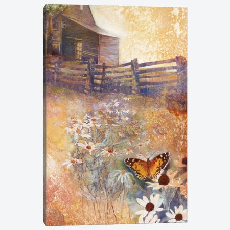 Spring Equinox Canvas Print #DNT100} by Denton Lund Art Print