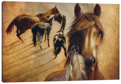 Sunrise On The Mesa Canvas Art Print