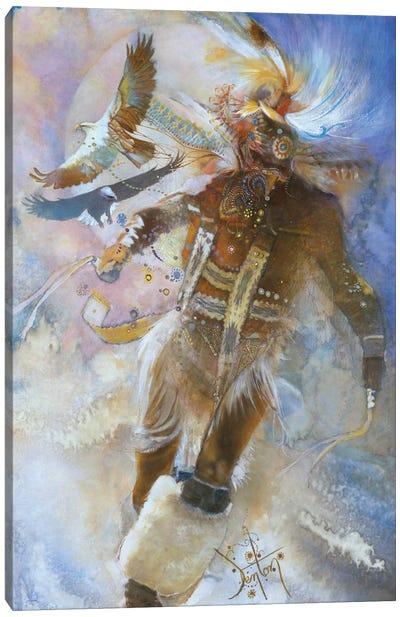 The Eagle Dancer Canvas Art Print