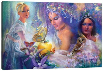 The Golden Apple Canvas Art Print