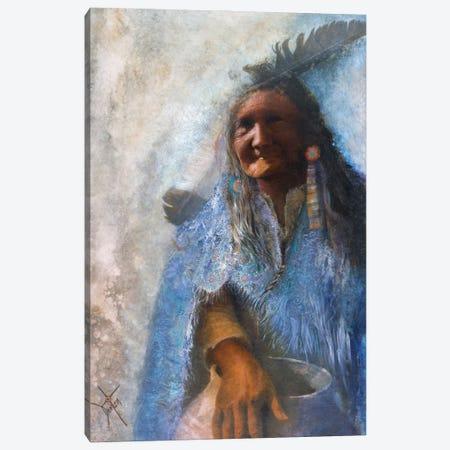 The Medicine Blanket Canvas Print #DNT119} by Denton Lund Canvas Art
