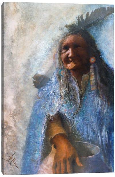 The Medicine Blanket Canvas Art Print
