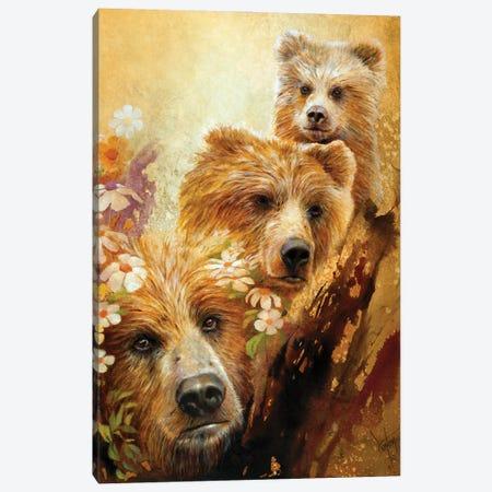 The Three Bears Canvas Print #DNT128} by Denton Lund Canvas Print