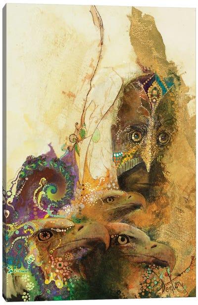 The Watchers Canvas Art Print