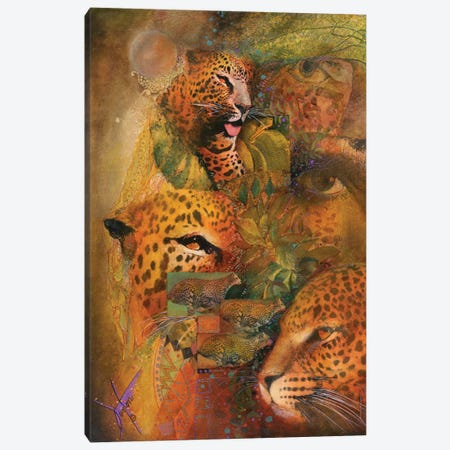 Whiskers Canvas Print #DNT145} by Denton Lund Canvas Art
