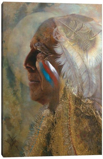 Wicasa Wakan ( The Holy Man) Canvas Art Print
