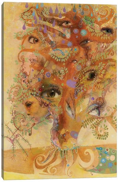 Window Of The Soul Canvas Art Print