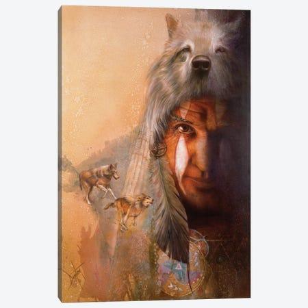 Wolf Tracks Canvas Print #DNT156} by Denton Lund Canvas Print