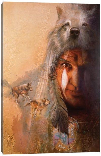 Wolf Tracks Canvas Art Print