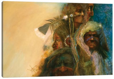 A Gathering Of Nations Canvas Art Print