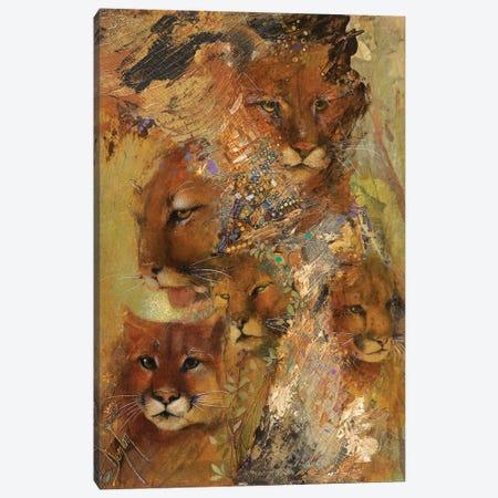 Cats Canvas Print #DNT25} by Denton Lund Art Print