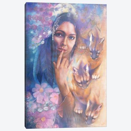 Cougar Moon Canvas Print #DNT30} by Denton Lund Canvas Art Print