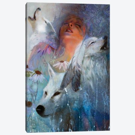 Dreamsongs Canvas Print #DNT39} by Denton Lund Art Print