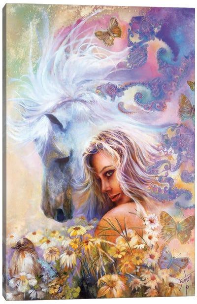 Godiva's Garden Canvas Art Print